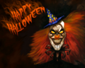 Evil Halloween Man