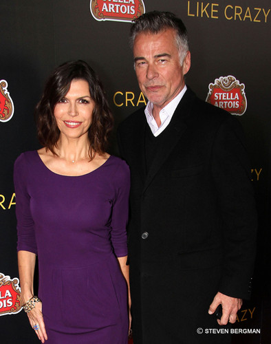 Finola Hughes and Ian Buchanan
