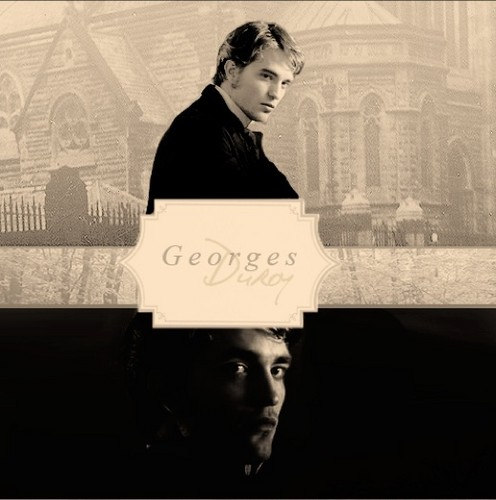Bel Ami wallpaper probably with a sign called Georges Duroy