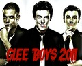 Glee Boys - glee wallpaper