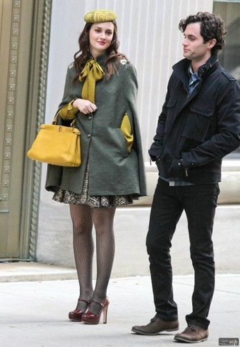Gossip Girl - Season 5 - BTS Set foto-foto - 31st October 2011 (Set 2)