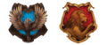 Gryffindor and Ravenclaw's FINAL CREST - hogwarts-house-rivalry photo