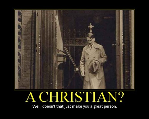 Guess who was a Christian...