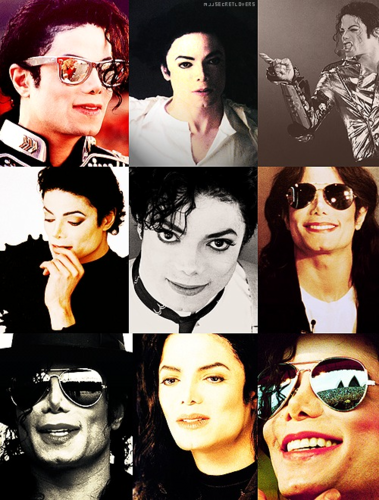 Michael Jackson wallpaper containing sunglasses called HIStory -era Collage