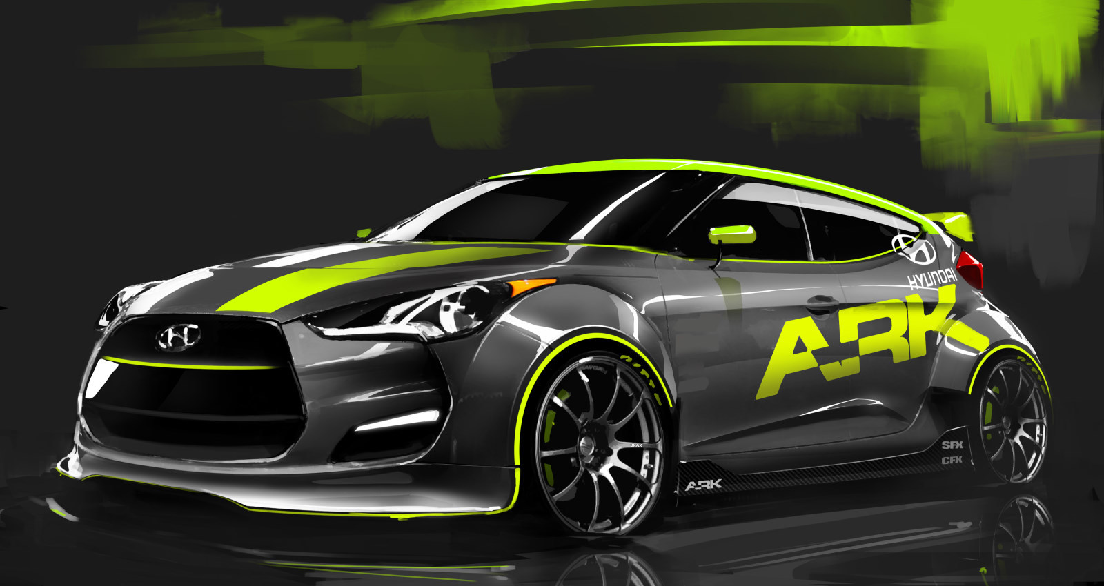 Hyundai Veloster Turbo Hyundai Fan Art 26422015 Fanpop