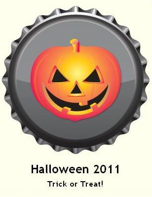 Halloween 2011 berretto, tappo