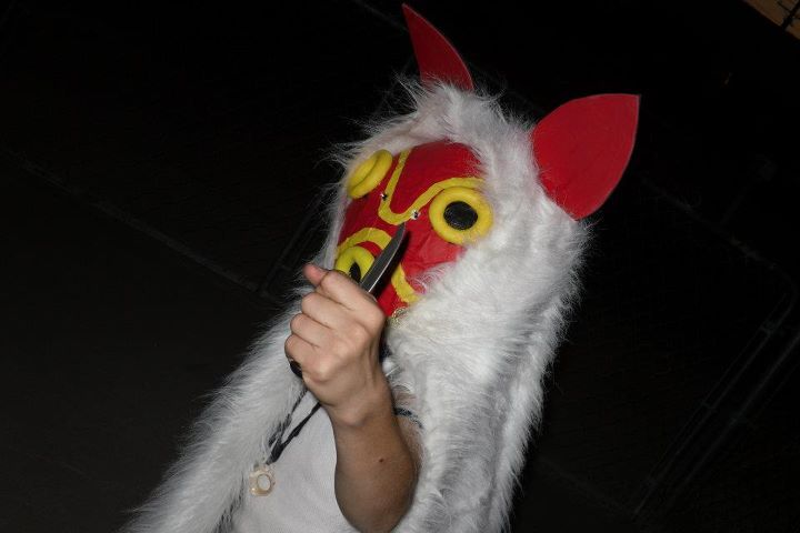 halloween images halloween costume princess mononoke hd wallpaper and background photos
