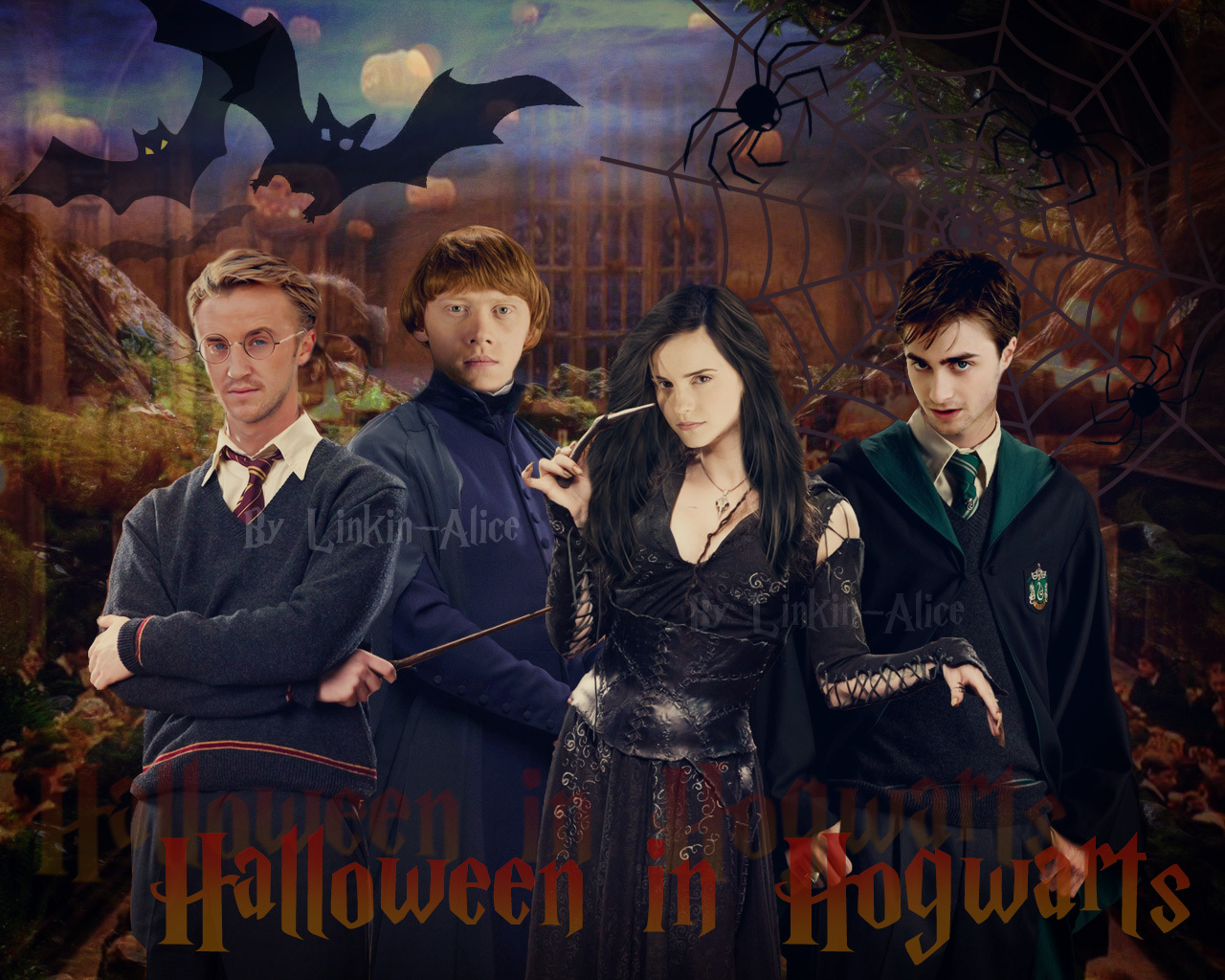 harry potter images halloween in hogwarts hd wallpaper and