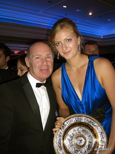 Hannibal Reitano and Petra Kvitova