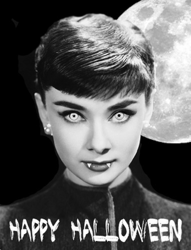 Happy Хэллоуин Audrey <33