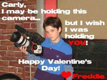 Happy V-day card