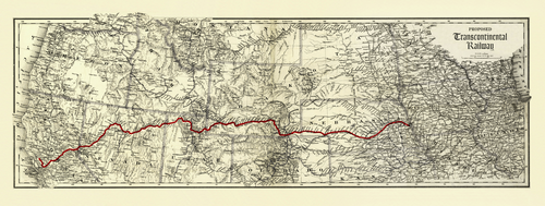 Hell on Wheels Map