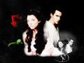 the-tudors - Henry and Anne wallpaper