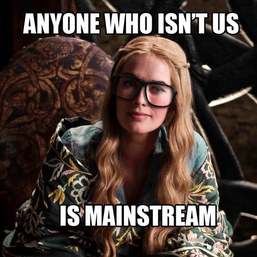Hipster Cersei