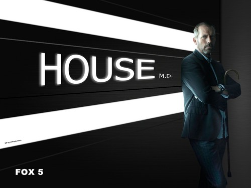 House M.D. wallpaper with a business suit called House M.D.