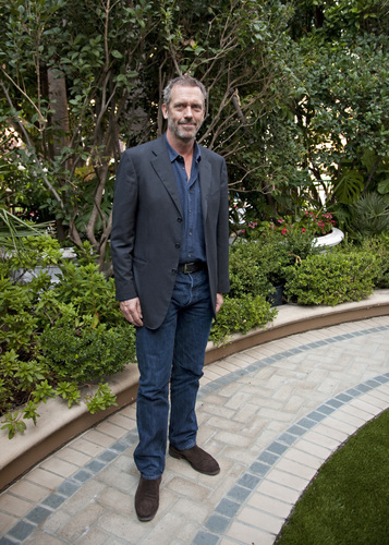 Hugh Laurie - House M.D. Press Conference -27.10.2011