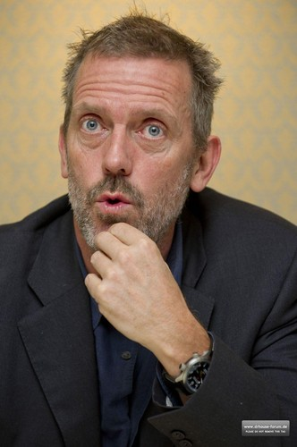 Hugh Laurie - House Press Conference 2011