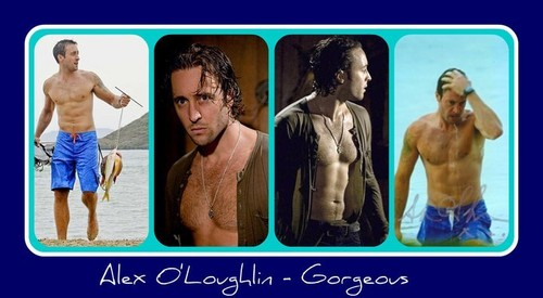 Alex O'Loughlin wallpaper possibly with skin titled I love Alex O'Loughlin