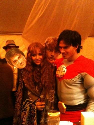 Ian & Nina Halloween Costumes