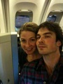Ian and Robin Somerhalder