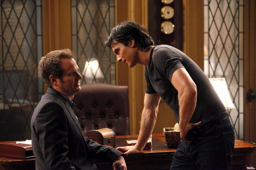 Jack Coleman The Vampire Diaries Promo Stills