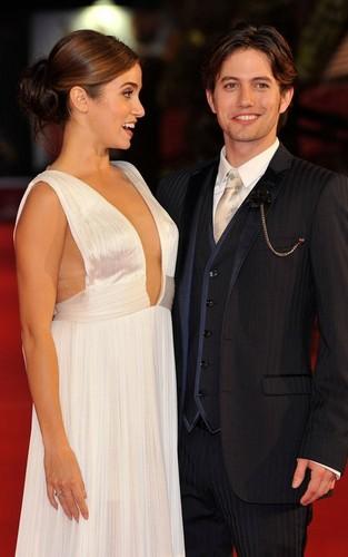Jackson Rathbone and Nikki Reed at the Rome International Film Festival (October 30).