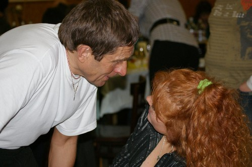 Josef Vana dancing