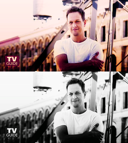 Josh Charles for TV Guide