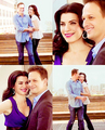 Julianna Marguiles and Josh Charles Tv Guide Photoshoot