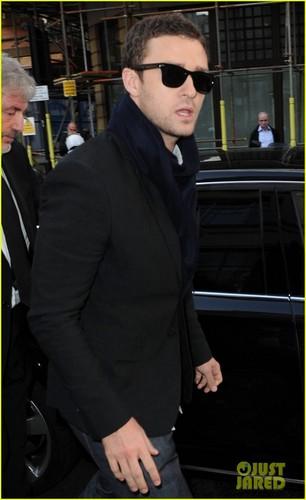 Justin Timberlake: BBC Radio One Visit