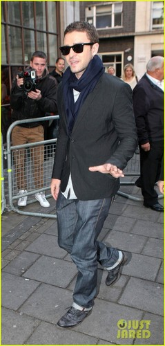Justin Timberlake: BBC Radio One Visit - justin-timberlake Photo
