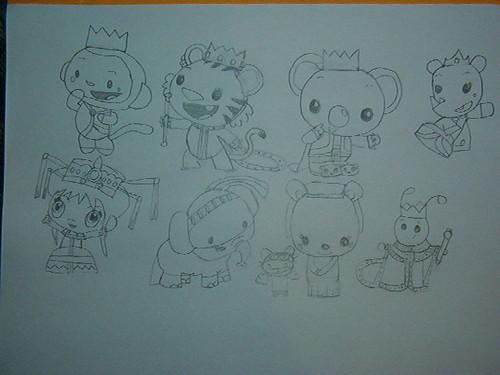 Kai-Lan's Royal Adventures Character Designs
