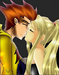Kid Flash and Artemis