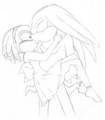 KnuXade bridal style - knuckles-the-echidna fan art
