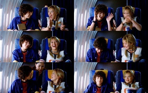 "Lizzie McGuire & David ""Gordo"" Gordon wallpaper possibly with a portrait titled Lizzie and Gordo"