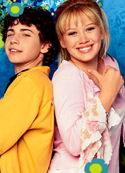 "Lizzie McGuire & David ""Gordo"" Gordon fondo de pantalla possibly containing a bridesmaid and a portrait entitled Lizzie and Gordo"