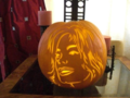 MJ PUMPKIN- HAPPY HALLOWEEN!!!! - michael-jackson photo