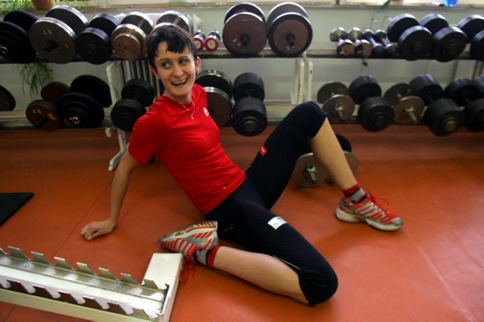 Martina Sablikova sexy fitness