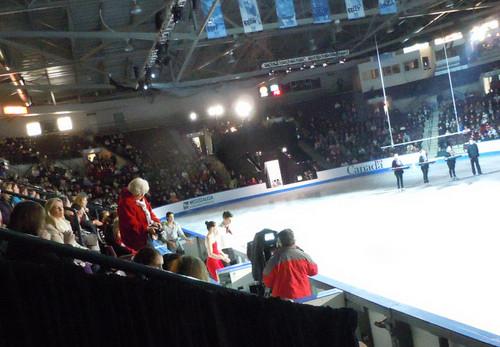 Medal Ceremony - 滑冰 canada 2011