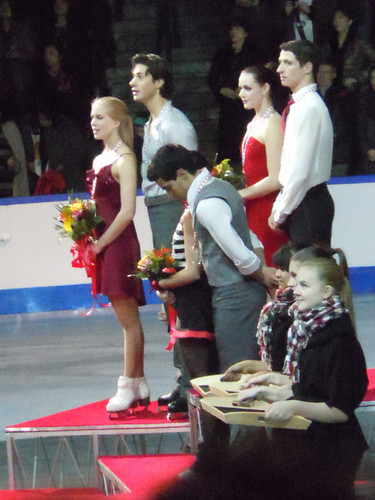 Medal Ceremony - isketing canada 2011