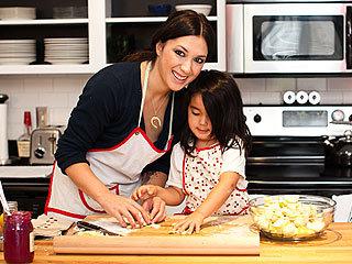 Michelle Branch with daughter, Owen