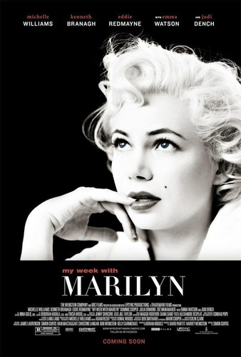 "Michelle Williams new ""My Week With Marilyn"" poster"