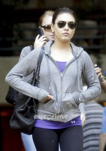 Mila Kunis spotted out in Hollywood, Oct 30