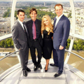 Milo and the Heroes Cast on the London Eye - milo-ventimiglia photo