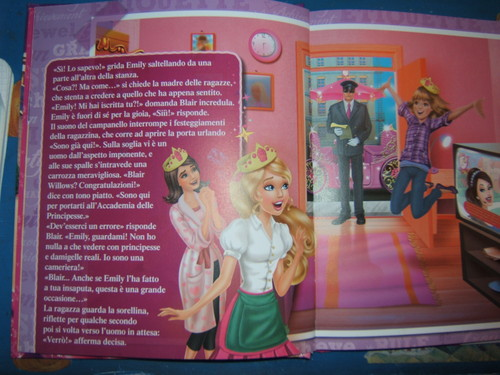 My Barbie: Princess Charm School storybook <3