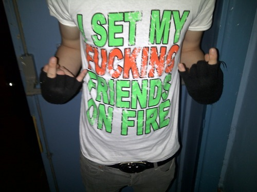 My I Set My Friends On api, kebakaran T-Shirt
