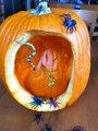 My Oogie Boogie pumpkin :D - nightmare-before-christmas photo