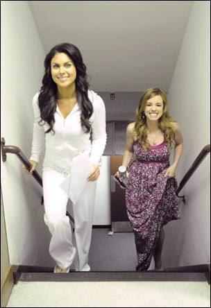 Nadia Bjorlin & Molly Burnett