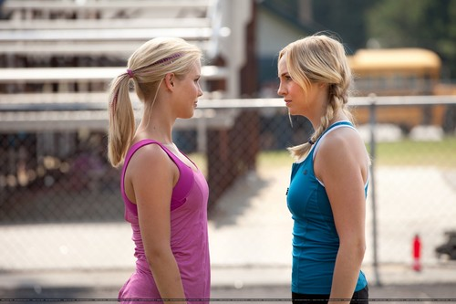 "Caroline Forbes वॉलपेपर probably containing a leotard titled New 3x06 ""Smells Like Teen Spirit"" stills [HQ]"