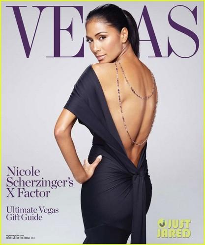 Nicole Scherzinger Covers 'Vegas'
